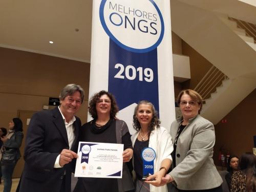IPH é reconhecido, pelo terceiro ano consecutivo, como uma das 100 Melhores Ongs do Brasil
