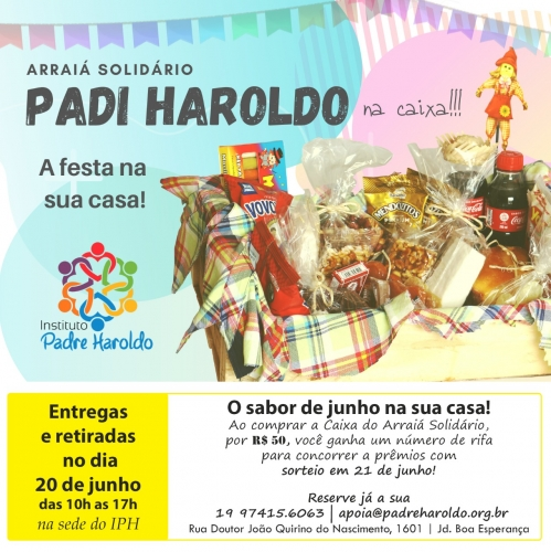 ARRAIÁ DO PADRE HAROLDO NA CAIXA!!!