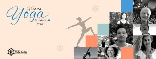 Virada Yoga Solidário de novembro aborda o tema