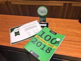 IPH é reconhecido, pelo segundo ano consecutivo, como uma das 100 Melhores Ongs do Brasil